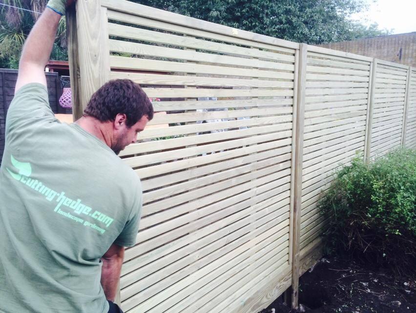 Decorative fencing panels